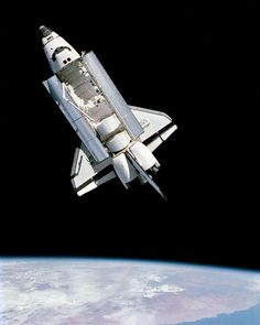 Space shuttle Challenger in orbit captured by mission specialist Bruce McCandless during his legendary spacewalk Fine Art Prints, Canvas Prints, Framed Prints, Cosmos, Space Shuttle Challenger, Space And Astronomy, Nasa Space, Galaxy Cat, Aerospace Engineering