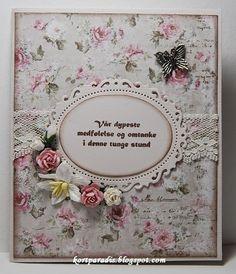 Kondolansekort Condolences, Diy And Crafts, Scrap, Invitations, Paper, Tips, Frame, Cards, Decor