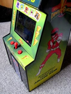 $49.95 shipped.  1994 Mighty Morphin POWER RANGERS Electronic Talking Arcade Bank - Rare Collectible