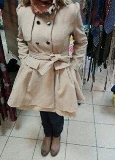 Kup mój przedmiot na #vintedpl http://www.vinted.pl/damska-odziez/plaszcze/16371553-nowy-z-metkabezowyplaszczyk