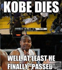 Kobe Bryant Memes - Funny Sports - - Kobe Bryant Memes The post Kobe Bryant Memes appeared first on Gag Dad. Kobe Bryant Memes, Kobe Memes, Funny Nba Memes, Funny Basketball Memes, Football Memes, Basketball Pictures, New Memes, Nba Basketball, Funny Humor