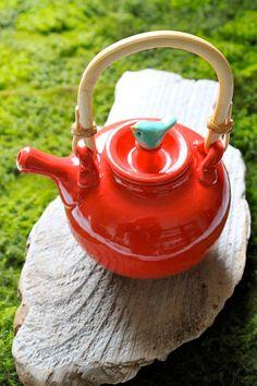 Birdie teapot