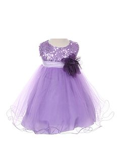 f5a1cf313a68 Dempsey Marie Beautiful Sequined Double Tulle Skirt Party Flower Girl  Special Occasion Dress