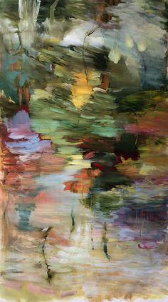Untitled, oil on canvas, 200 x 110 cm, Bjørnar Aaslund, 2018. www.bjornaraaslundmalerier.com