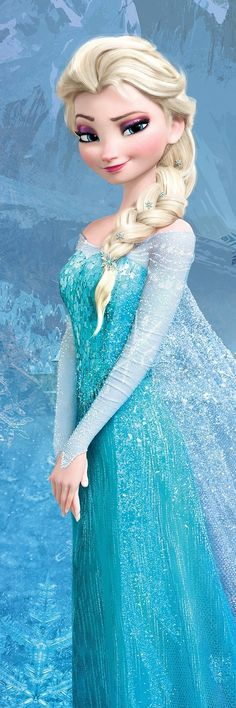 "Elsa - Frozen. Brilliant film! And ""Let it Go"" is one of the most beautiful animated scenes I have ever seen."