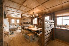 Innenansicht des Luxus Chalet Sporer Alm in Tirol