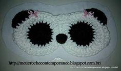 Máscara de dormir Ursinha Panda
