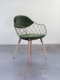 Lovely green midcentury chair