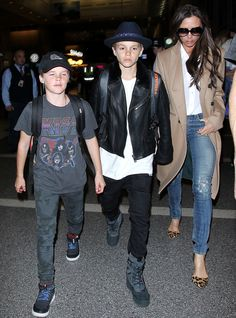 The Beckham Kids Have Yeezy Fever