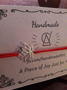 Armband schnur Blume der Seerose oder Lotus handmade 925 Silber Flower of Water