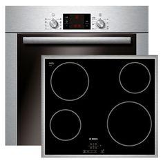 Bosch Einbau-Backofen+6 Heizarten+ Pyrolyse + Glaskeramik Kochstelle PKE645B17E   eBay