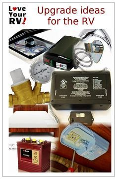 Some great upgrade ideas for your new RV from the Love Your RV! blog - http://www.loveyourrv.com/ #RV #upgrades