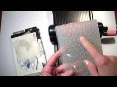 Stampin'UP! - Embossage sélectif sur Vélin - YouTube
