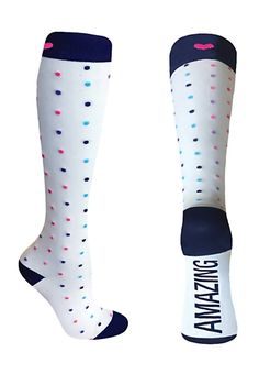46d9b848e9a Beyond Scrubs Socks For The Soul 12-14mmHG Compression Socks | Scrubs &  Beyond