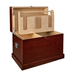 The Dover Saddlery® Hardwood Trunk with Bandage Lid is built to last. This wooden tack trunk comes with a grooming tote and tray to keep you organized. It has a durable varnished exterior. Diy Storage Trunk, Dovers, Tack Box, Tack Trunk, Used Saddles, Dover Saddlery, Gift Card Number, The Barnyard, Horse Supplies