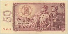 Státovky a bankovky (1953-1993) - Papírová platidla, bankovky Banknote, Prague, Vintage World Maps, Coins, Retro, Travel, Art, Coining, Paper Envelopes