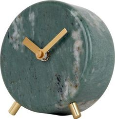 Cullen Marble Table Clock, Green from Made.com. Trend alert - smooth marble and metal. Together they create a look of luxury for your home. It's the..