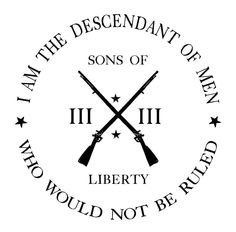 sons of liberty tattoo Liberty Tattoo, Patriotic Tattoos, Dont Tread On Me, Badass Quotes, Future Tattoos, I Tattoo, Angle Tattoo, Hebrew Tattoo, Tattoo Pain