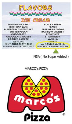Have problems with Sugar. Did you know Papa's has Double Vanilla & Choc. Caramel Pecan With No Sugar Added? Today's food truck is Marco's Pizza starting at 4:30