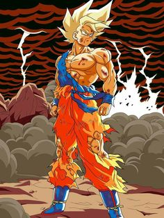 Résultat d'images pour Goku ssj dragon ball z Dragon Ball Gt, Anime Negra, Manga Dragon, Ball Drawing, Super Saiyan, Fan Art, Anime Comics, Z Arts, Animation