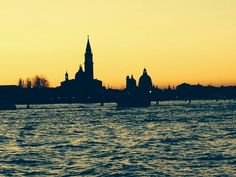 Sunset shapes in #Venice - Italy