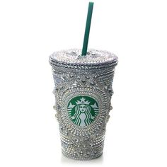 Swarovski Starbucks Mugs by Trouvaille Gallery - Polyvore