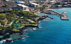 King Kamehameha Hotel Kona stayed here for our 25th anniversary in 1995 .. saw my brother on Big Island, huge luau for us.