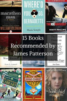 James Patterson fans will like these reading recommendations from James Patterson himself!