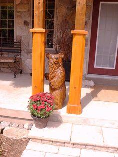 Wood carvings and tree sculptures by Jim Menken