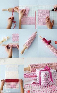 Hacer papel de regalo en casa!!