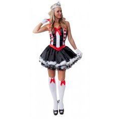 Alice in Wonderland Queen of Hearts Costume