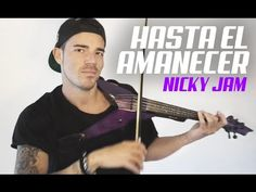 Nicky Jam - Hasta El Amanecer (Violin Cover by Robert Mendoza)