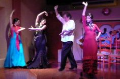 We loved the Falmenco dancers at Barrachina's in old San Juan, Puerto Rico!