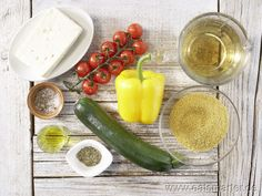 Zutaten für das Rezept: Hirse-Gemüse-Pfanne