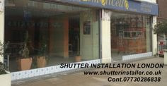 #GlassShutterEastLondon SHUTTER INSTALLER LONDON http://www.shutterinstaller.co.uk  Cont.02071400028