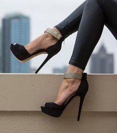Unalellan - Black Aldo - Heels