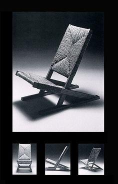 日本土着的椅子:「ガマイス」1972年 [テーブル・椅子] All About