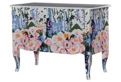 Love this Steven Shell chest of drawers.  Would be great for a little girl's room.