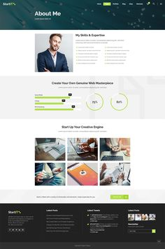 Create an amazing tech website in no time with Startit WordPress theme! Page Design, Layout Design, Web Design, Types Of Technology, App Landing Page, Create Your Website, Building A Website, Website Design Inspiration, Layout Template