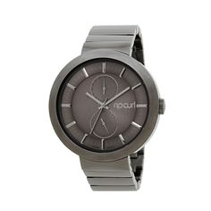 Relógio Rip Curl The Futurist Chumbo Urban Icon, Surf Watch, Its A Mans World, Rip Curl, Fashion Watches, Michael Kors Watch, Futuristic, Stainless Steel, Jewels