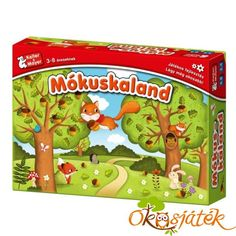 Mókuskaland társasjáték - Keller & Mayer (KM) Snack Recipes, Snacks, Lombok, Pop Tarts, Board Games, Cereal, Lunch Box, Packaging, Toys