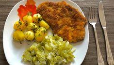 Kotlety schabowe z musztardą i majonezem Risotto, Mashed Potatoes, Tacos, Eggs, Meat, Chicken, Cooking, Breakfast, Ethnic Recipes