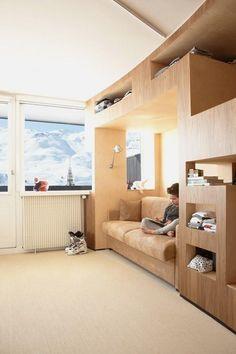 Macram hamacs and photos on pinterest for Appartement design ski