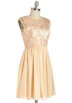 ModCloth Peaches and Dreamy Dress
