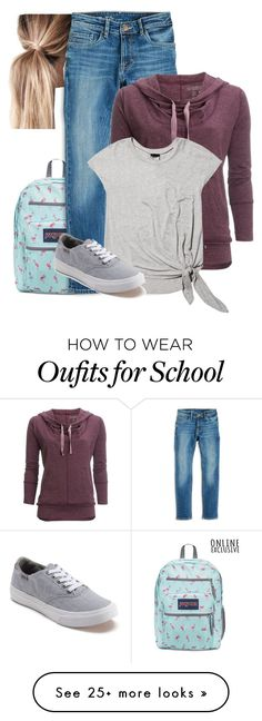 """Back To School"" by folledicolagiocattoli on Polyvore featuring Carve Designs, Terez and Vans"