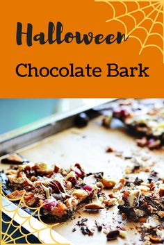 A perennial post-Halloween favorite for me is this Halloween chocolate bark. Because why not take all that extra candy and add even more chocolate? 😍🍫 Adding a sprinkle of salty pretzels makes it even yummier.