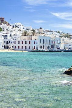 The 10 Best Party Beaches On Earth - Super Paradise Beach, Mykonos, Greece