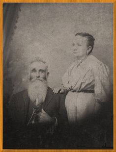 Thomas and Ella in Sevier County. Thomas fought in Virginia in the Civil War at age 16.