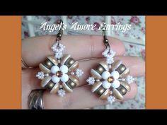 """Videoanleitung für """"Angel's Amore Ohrringe"""" von HoneyBeads - gefunden auf youtube.com"""