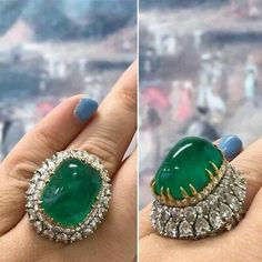 Diamond Jewelry 925 Sterling Silver Cz Green Cabochon Pear Up Halo Diamond Engagement Ring, Diamond Rings, Diamond Cuts, Gemstone Rings, Gold Rings, Emerald Jewelry, Turquoise Jewelry, Diamond Jewelry, Diamond Necklaces